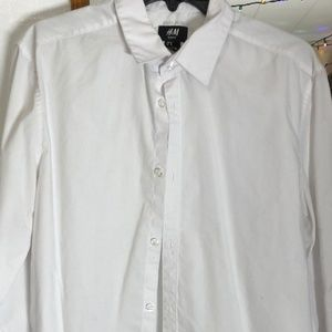 Men's Slim Fit Oxford Long Sleeve No-Pocket Solid